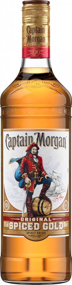 Rum Captain Morgan Spiced 35% 0,7l