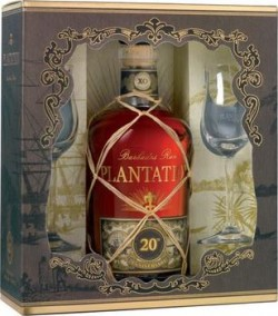Rum Plantation 20th Anniv. + 2ks sklo 40% 0,7l /B/